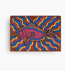 Aarl - (fish) barrgan season (winter) Canvas Print