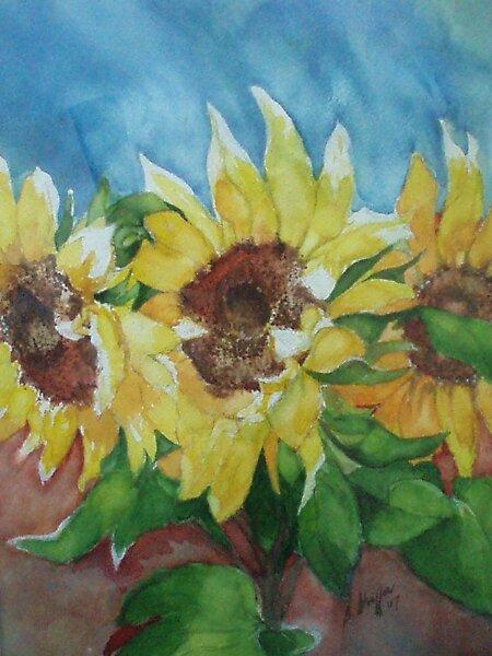 Sun Flower. by Bobbi Lynn