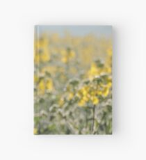 Rapeseed field by Laila Cichos Hardcover Journal