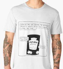 Alphabet Spaghetti Men's Premium T-Shirt