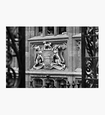Coat Of Arms Eastgate St Chester Photographic Print