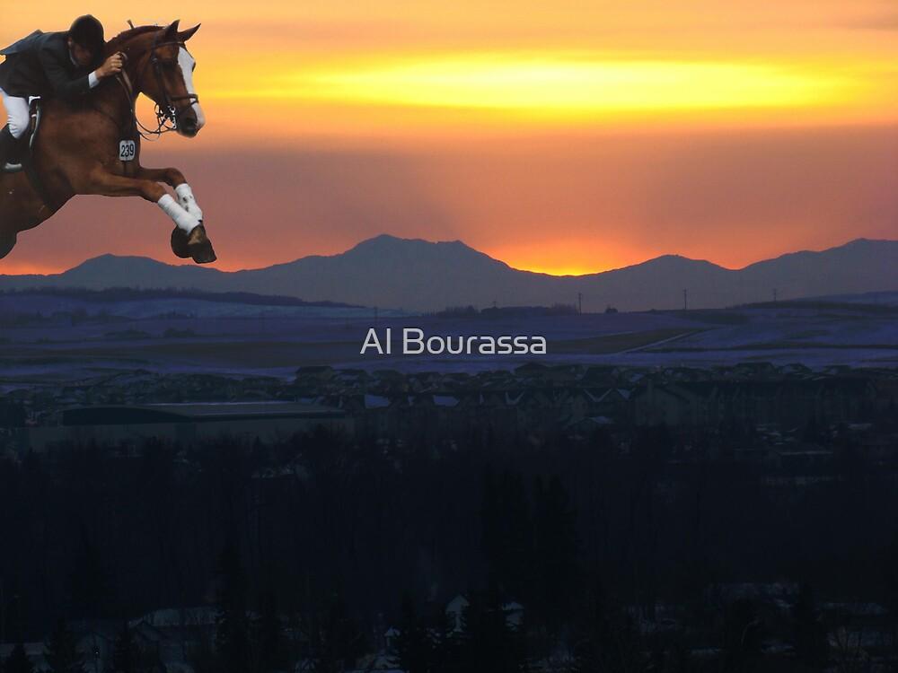 The Final Hurdle by Al Bourassa