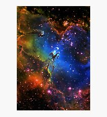 Galaxy Eagle Photographic Print