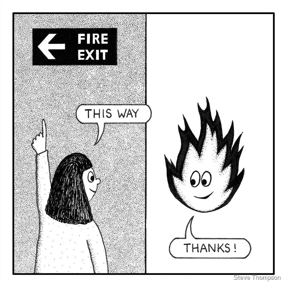 Fire Exit by Steve Thompson