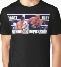 Tyson Fury Nothing Is Impossible Graphic T-Shirt