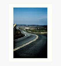Long and Winding Road Art Print