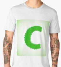 grass letter Men's Premium T-Shirt