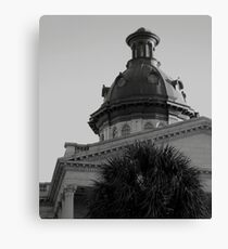 Columbia SC State House Canvas Print