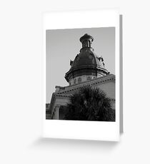 Columbia SC State House Greeting Card