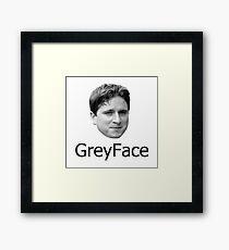 GreyFace Kappa Twitch Framed Print