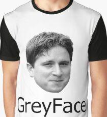 GreyFace Kappa Twitch Graphic T-Shirt