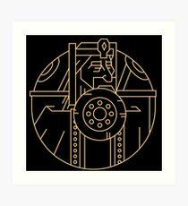 RULERS - Letter O Art Print