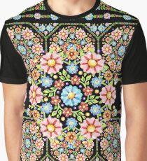 Millefiori Rosette Graphic T-Shirt