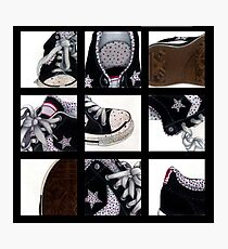 All-Star Shoes Photographic Print