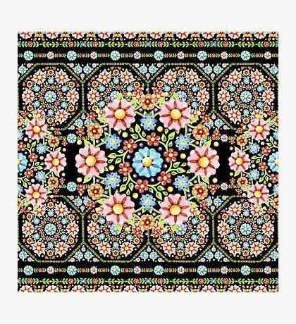 Millefiori Rosette Photographic Print