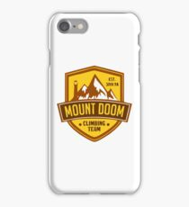 Mount Doom iPhone Case/Skin