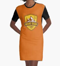 Mount Doom Graphic T-Shirt Dress