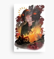 The Fire and The Fury Metal Print