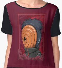 Naruto Obito Women's Chiffon Top
