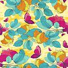 Seamless Floral Ornament by Olga Altunina