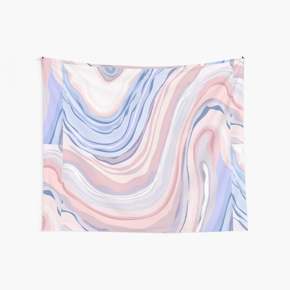 Pastel Marble Wall Tapestry