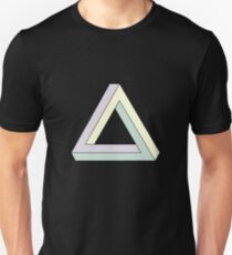 Penrose Triangle, Impossible Triangle 2 Slim Fit T-Shirt