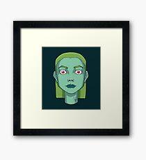 bulbasaur girl  Framed Print
