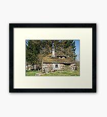 Forgotten historic home Framed Print