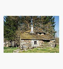 Forgotten historic home Photographic Print
