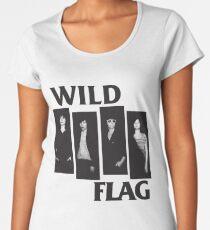 wild flag weiss carrie brownstein Women's Premium T-Shirt