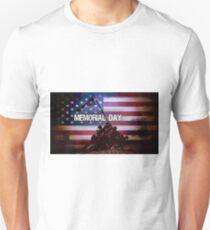 Memorial Day Iwo Jima Memorial Unisex T-Shirt