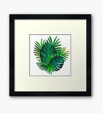 Green paradise Framed Print