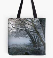 Snow in Moray Tote Bag