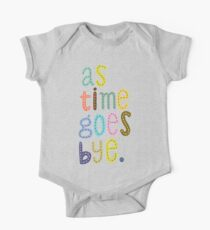 As Time Goes Bye Kids Clothes