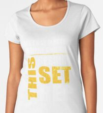 All That Matters Is Here And Now, This Session, Set, Rep  Motivational Bodybuilding Quote Women's Premium T-Shirt