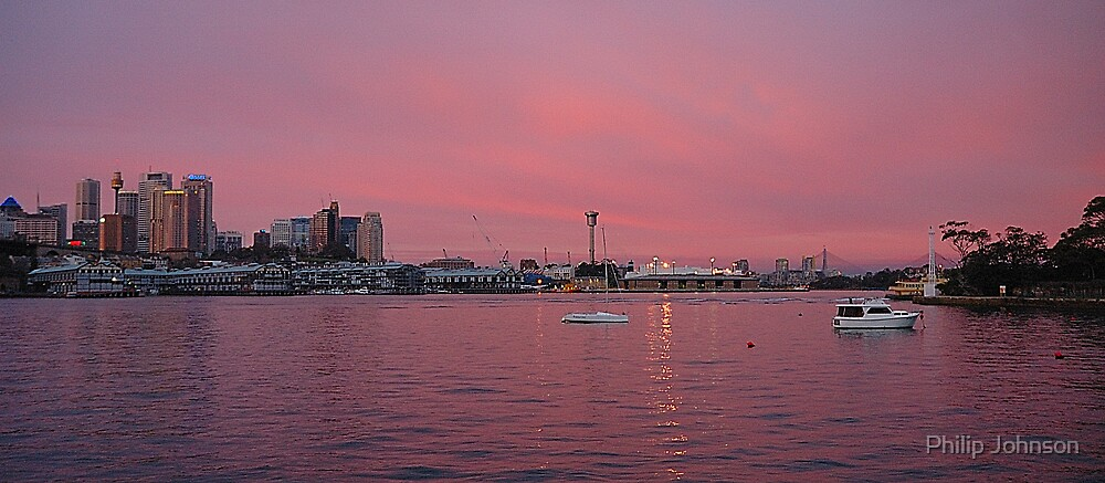 Pink Harbour #1 by Philip Johnson