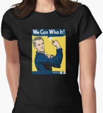 We Can Who It! Women's Fitted T-Shirt