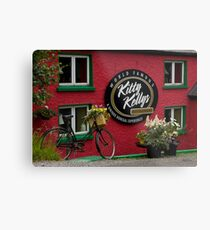 Kitty Kelly's restaurant, Donegal - wide Metal Print