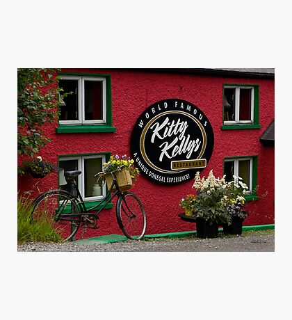 Kitty Kelly's restaurant, Donegal - wide Photographic Print