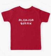 blowjob queen quote Kids Tee