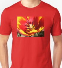 Red and Yellow Tulip Unisex T-Shirt