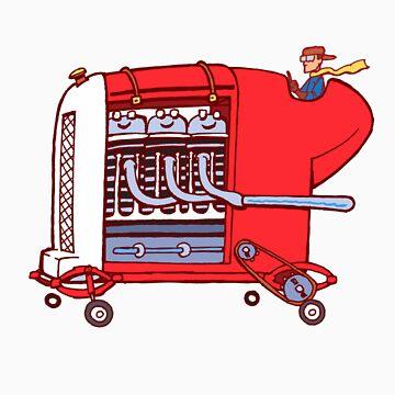 little red torpedo by johnkratovil
