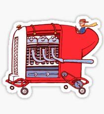 little red torpedo Sticker
