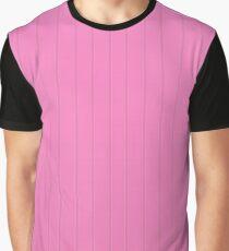 Dva Basic Stripes Pink Skin Graphic T-Shirt