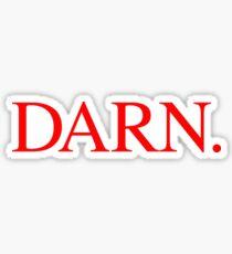 DARN. Sticker