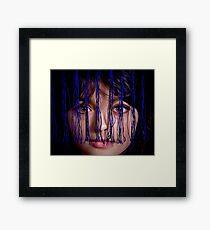 Piercing Eyes Framed Print