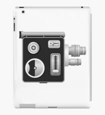 old cine camera iPad Case/Skin
