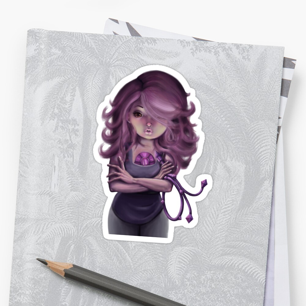 Amethyst  Sticker