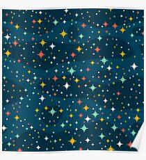 Stars in the sky Poster