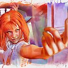 Leeloo - The Fifth Element by illusoryart